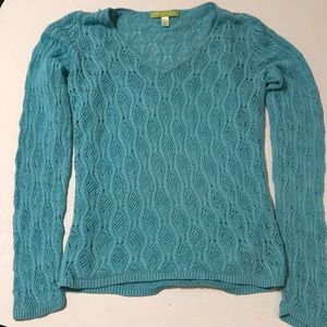 Sigrid Olsen sweater with cami underneath